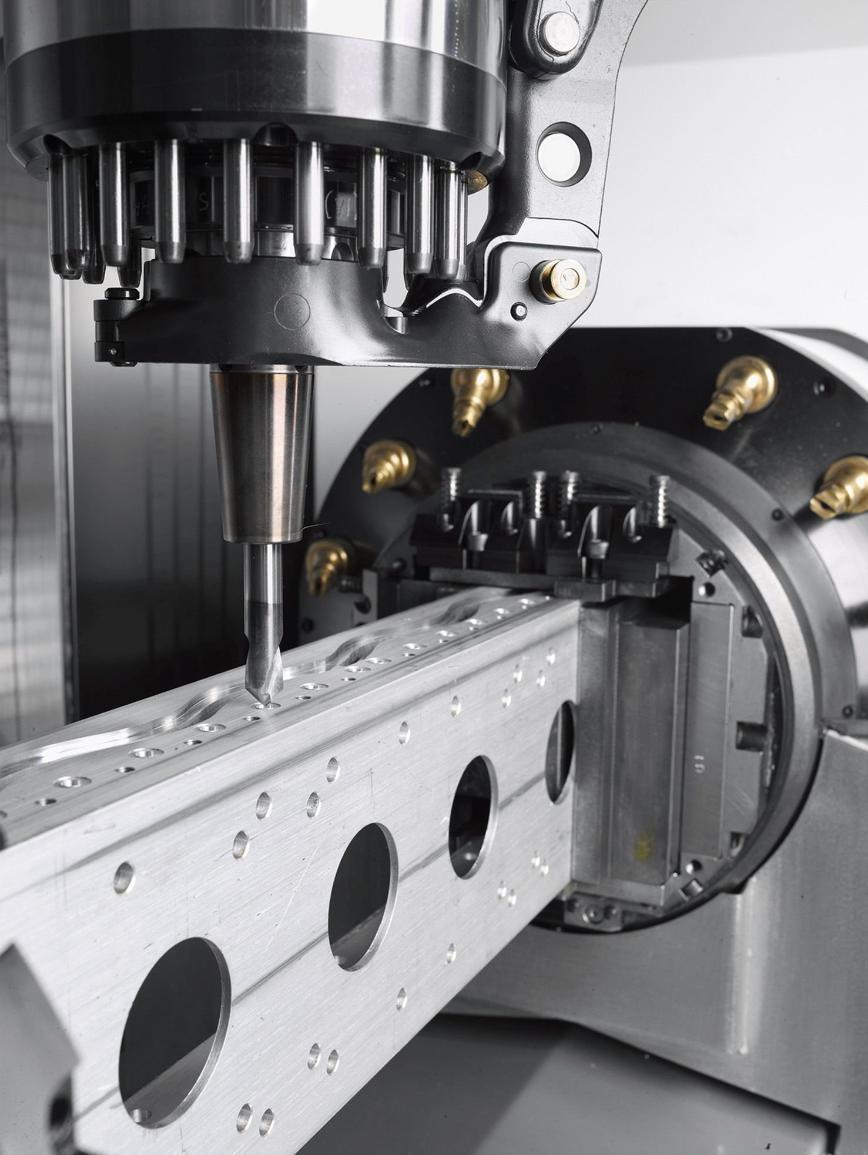 Logo Machining center - FZ 15 S profile system