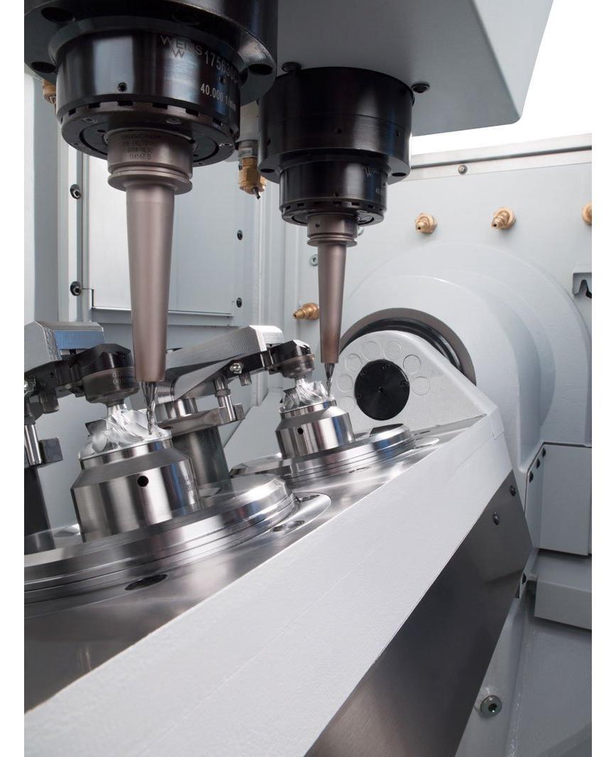 Logo Vertical machining center - DZ 08 S five axis precision+