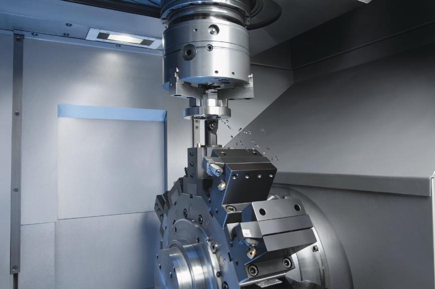 Logo Senkrechtdrehmaschine mit selbstladender Werkstückspindel - Vertikaldr