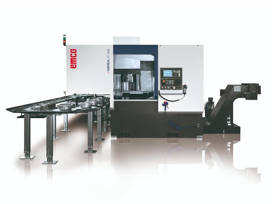 Logo Vertical machining centre - VERTICAL TURN 400