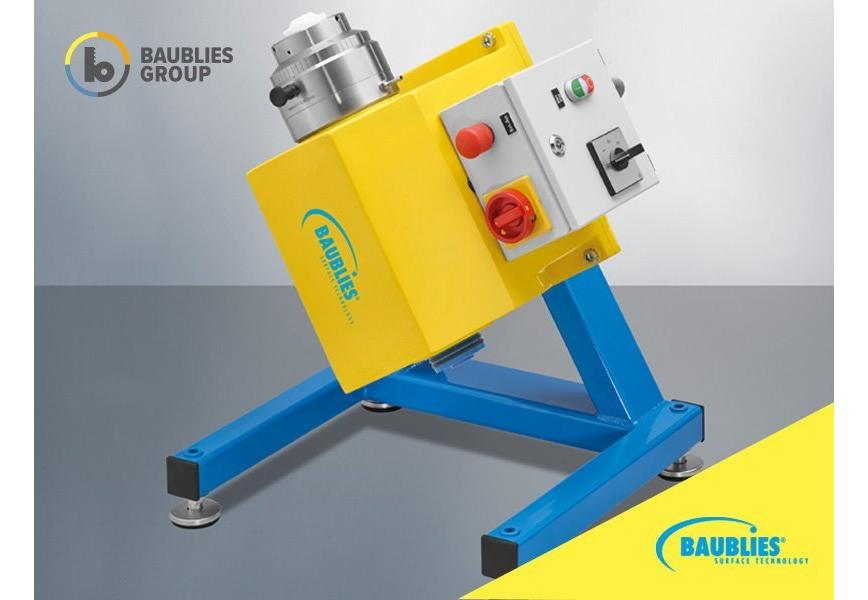 Logo Roller burnishing machine for external  diameters of cylindrical workp