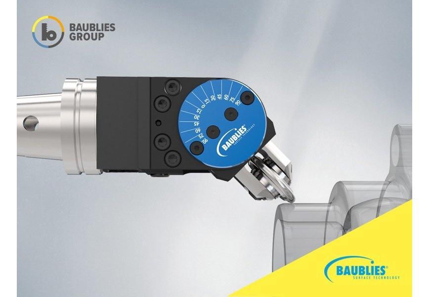 Logo Single-roller burnishing tool - Variable single-roller burnishing tool