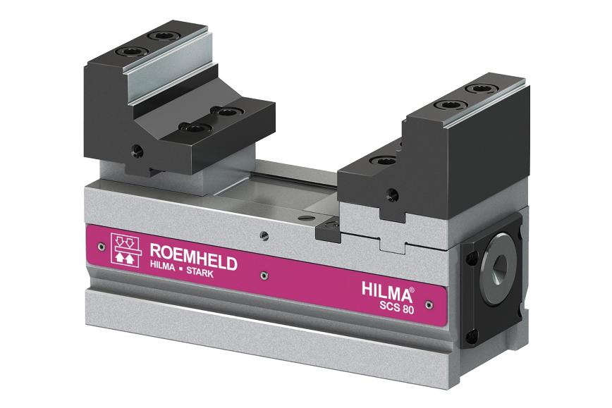 Logo Machine vice - Workholding Systems SCS