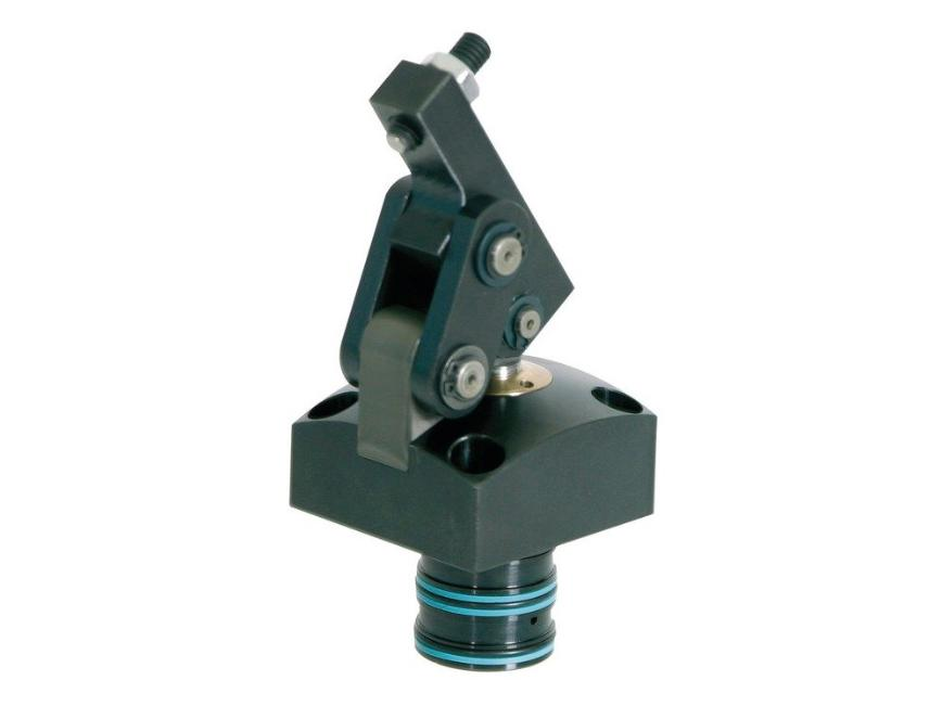 Logo Clamping device, hydraulic - Hydraulic hinge clamp
