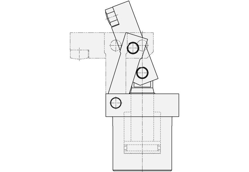 Logo Spanneinrichtung, hydraulisch - Hebelspanner