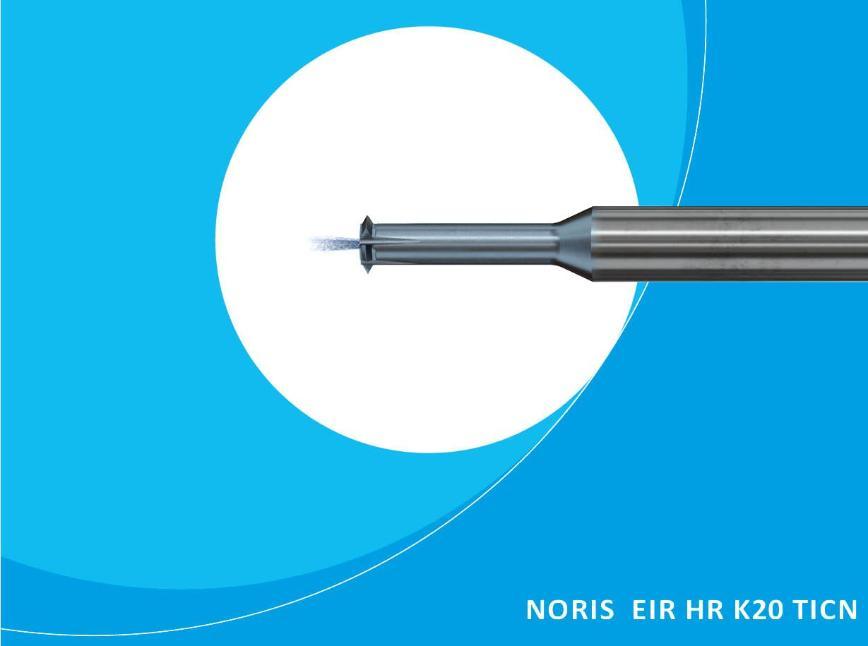 Logo Thread milling cutter - NORIS EIR HR K20 TICN