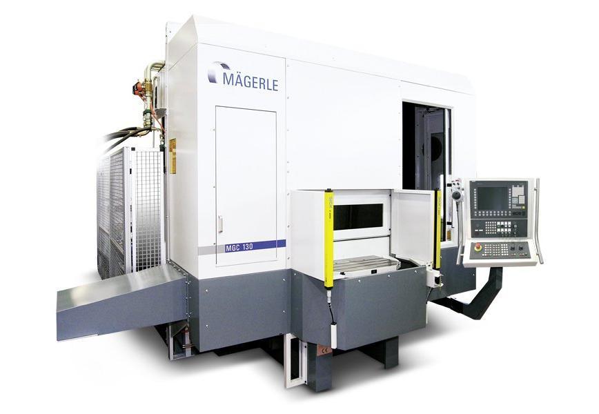 Logo Horizontal spindle surface grinding machine - MÄGERLE MGC ST