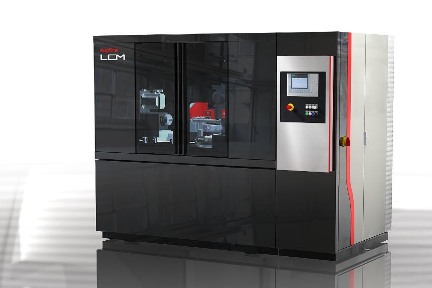 Logo Flexible Produktionsmaschine für die Kleinserie - Supfina LCM
