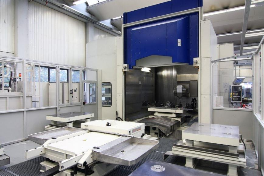 Logo SMX 5181 Horizontal Special Machining Center with HV Milling Head