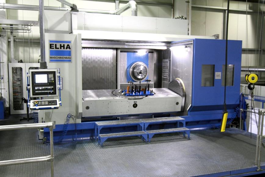 Logo SMX 5224 Horizontal 5-Axis Special Machining Center for Titan Cutting