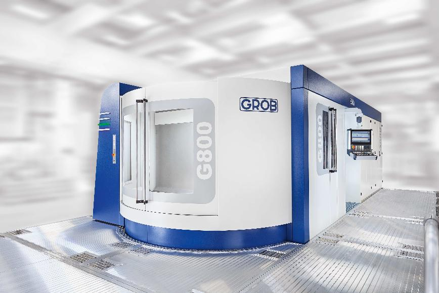 Logo Machining center - G800
