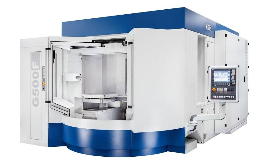 Logo machining centers for frame structure parts - G500F