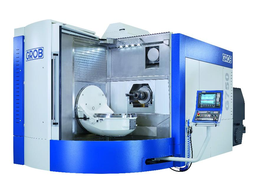 Logo Universal machining centre - G750 – Generation 1