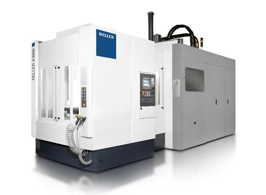 Logo 4-axis horizontal machining centres - H 6000