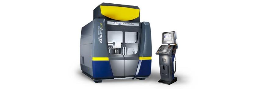 Logo High-speed-milling machine - HIGH SPEED EAGLE V9