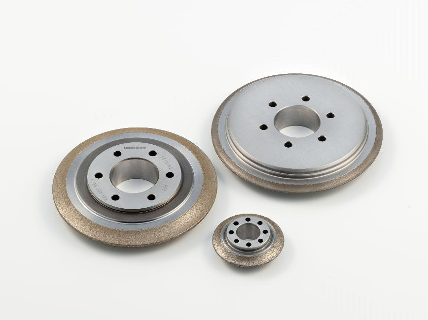 Logo Bonded abrasive product - CBN profile grinding discs