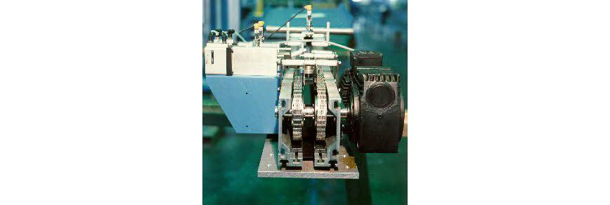 Logo Conveying equipment and systems - Toothed chain conveyors (ZKB)