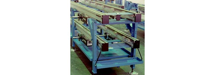 Logo Conveying equipment and systems - Accumulating conveyors (SFB)