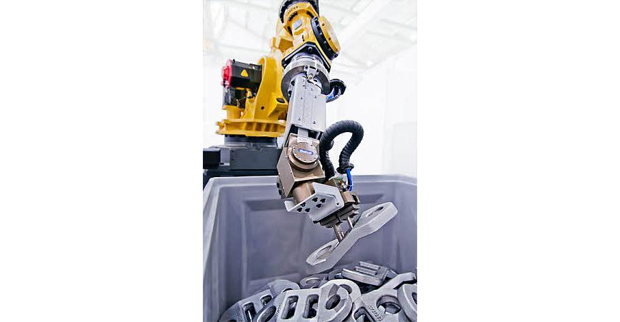 Logo Manipulating robots - Bin Picking