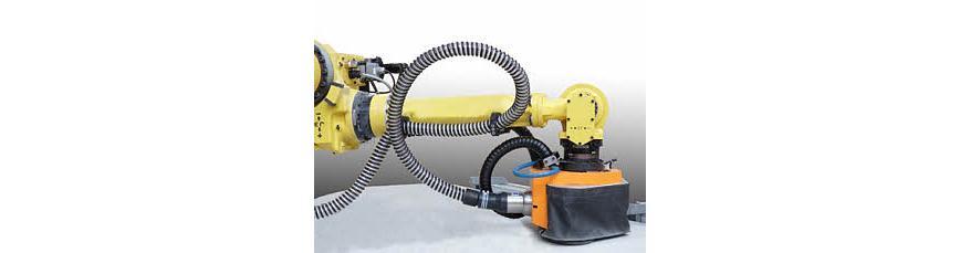 Logo Handhabungsroboter - Roboterblattbearbeitung