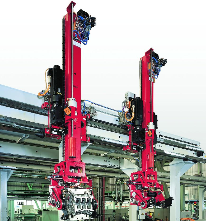Logo Robots for other applications - Gantries