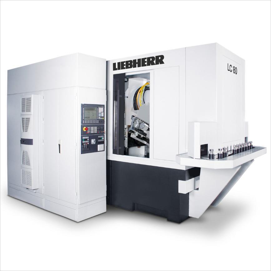 Logo Wälzfräsmaschine für zylindrische Verzahnungen - LC 80