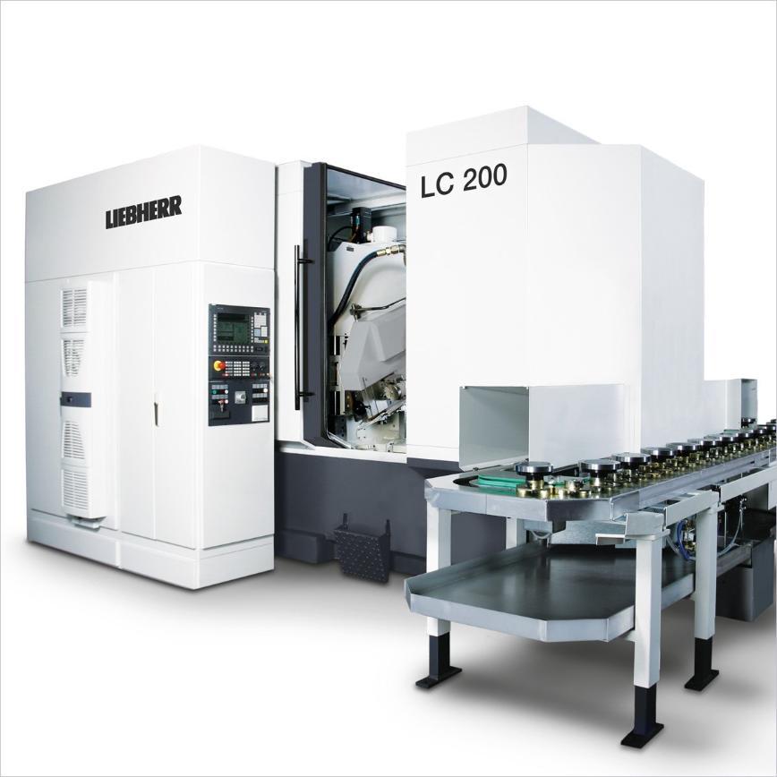 Logo Wälzfräsmaschine für zylindrische Verzahnungen - LC 200