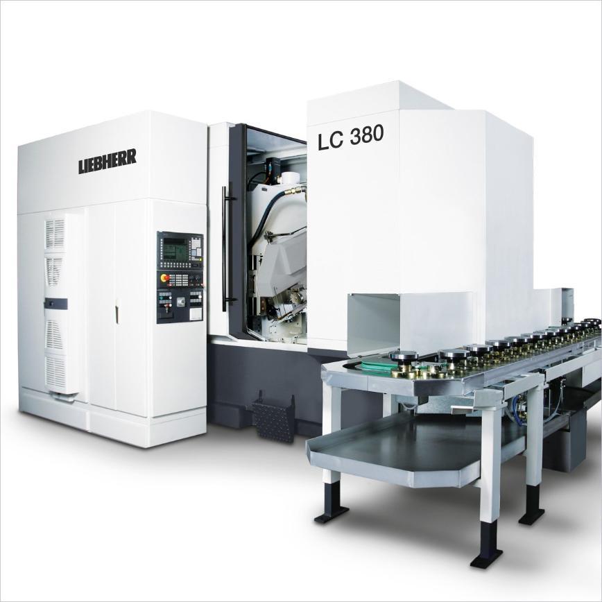 Logo Wälzfräsmaschine für zylindrische Verzahnungen - LC 380
