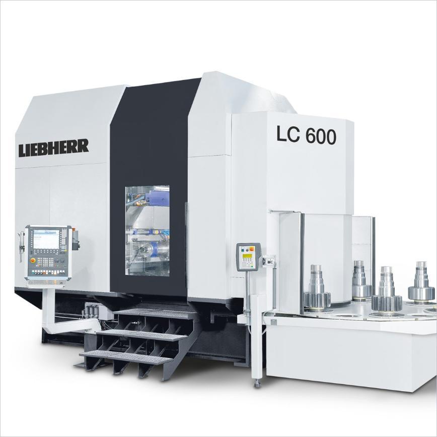 Logo Wälzfräsmaschine für zylindrische Verzahnungen - LC 600
