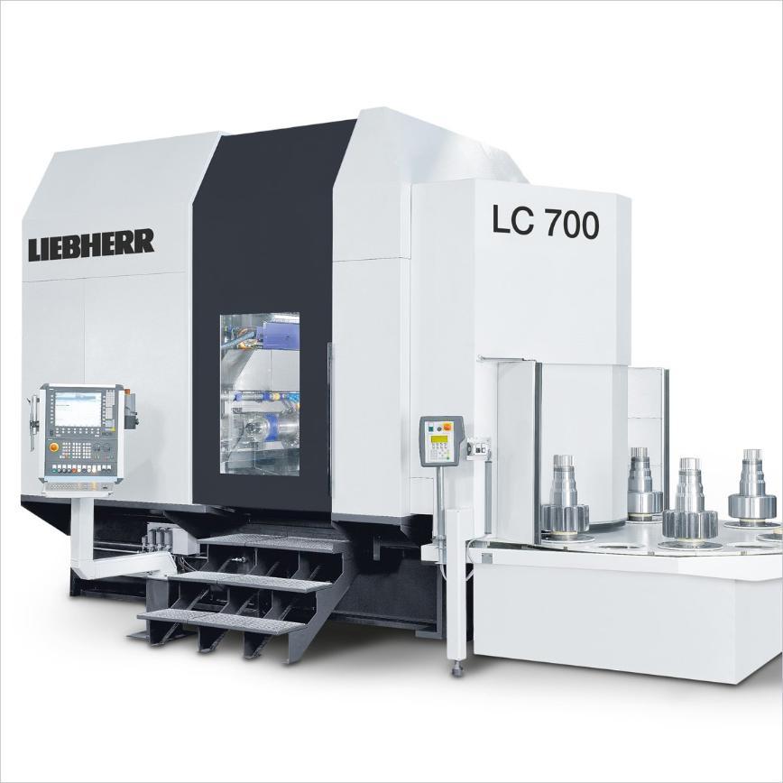 Logo Wälzfräsmaschine für zylindrische Verzahnungen - LC 700