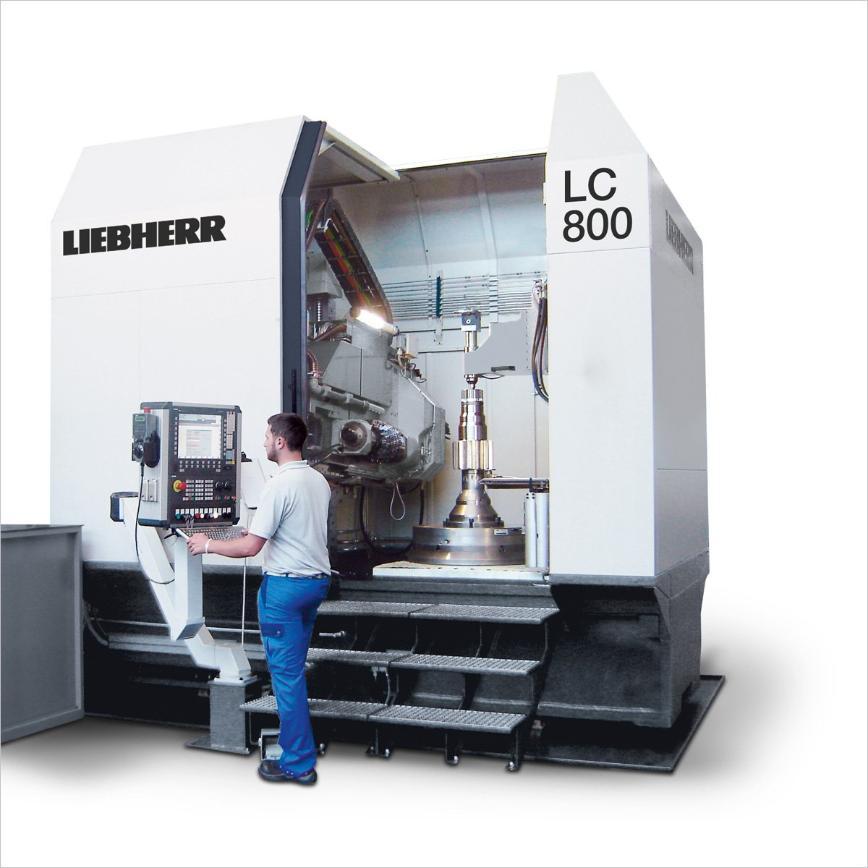 Logo Cylindrical gear hobbing machine - LC 800