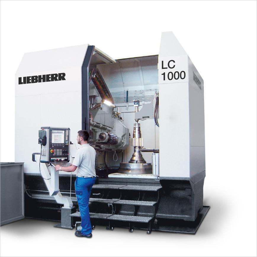 Logo Wälzfräsmaschine für zylindrische Verzahnungen - LC 1000