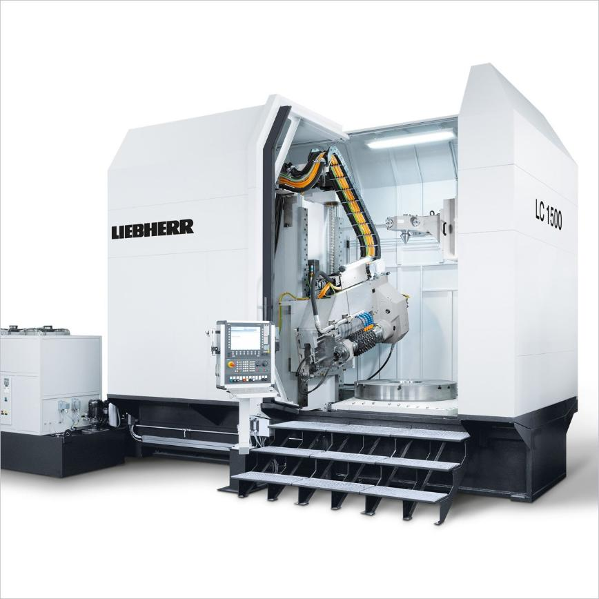 Logo Cylindrical gear hobbing machine - LC 1500