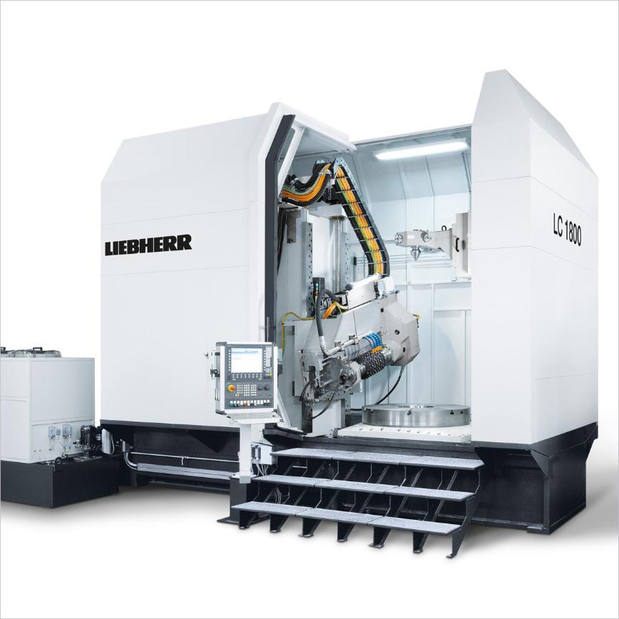 Logo Wälzfräsmaschine für zylindrische Verzahnungen - LC 1800