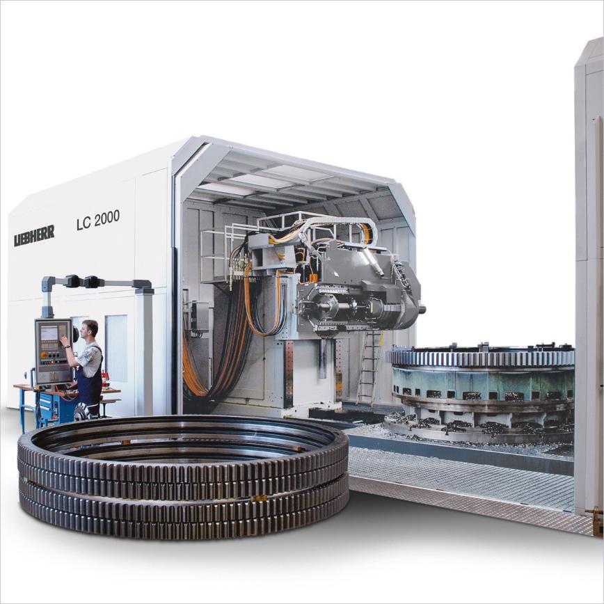 Logo Cylindrical gear hobbing machine - LC 2000