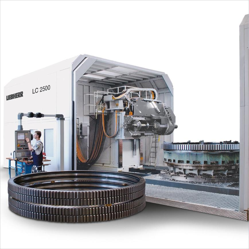 Logo Cylindrical gear hobbing machine - LC 2500