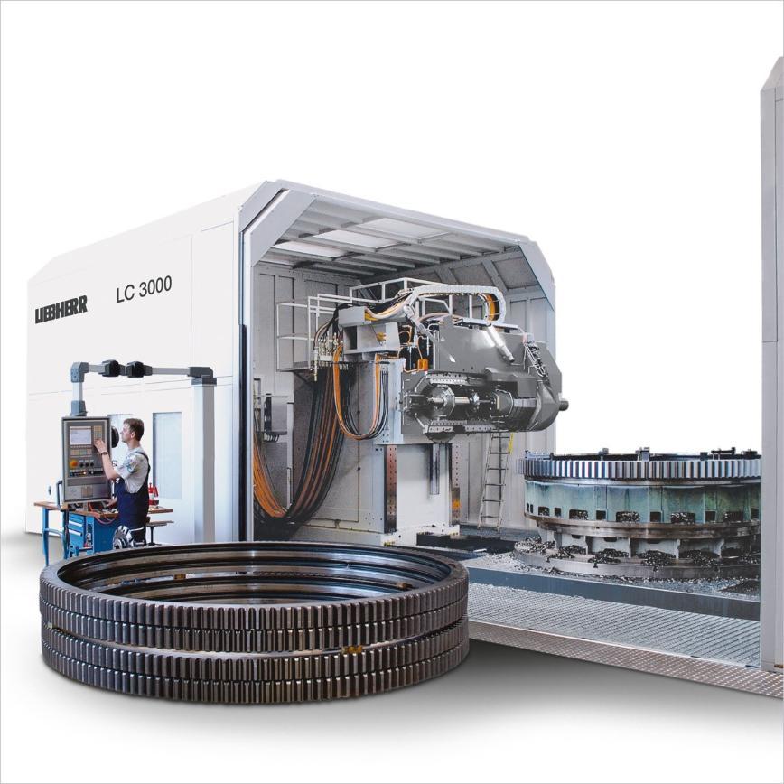 Logo Cylindrical gear hobbing machine - LC 3000
