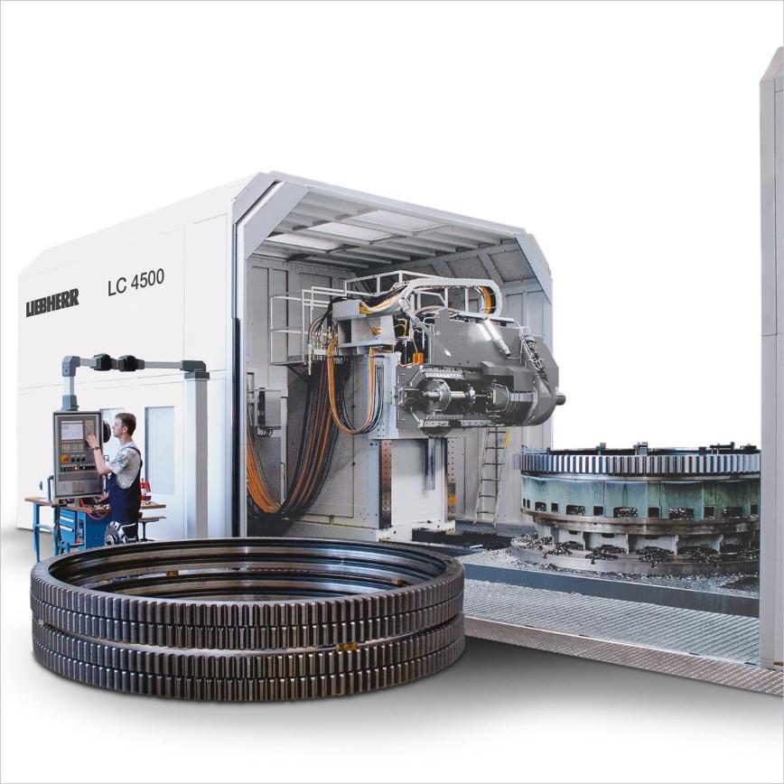 Logo Cylindrical gear hobbing machine - LC 4500