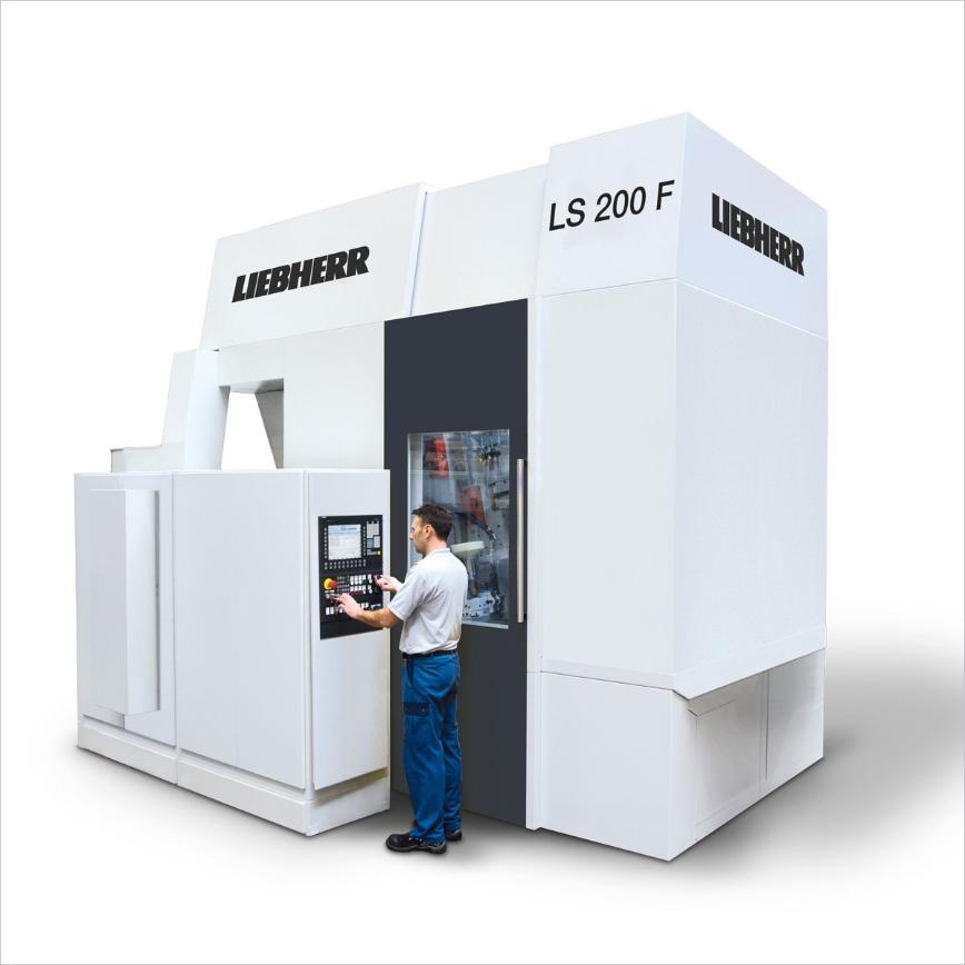 Logo Cylindrical gear shaping machine - LS 200 F