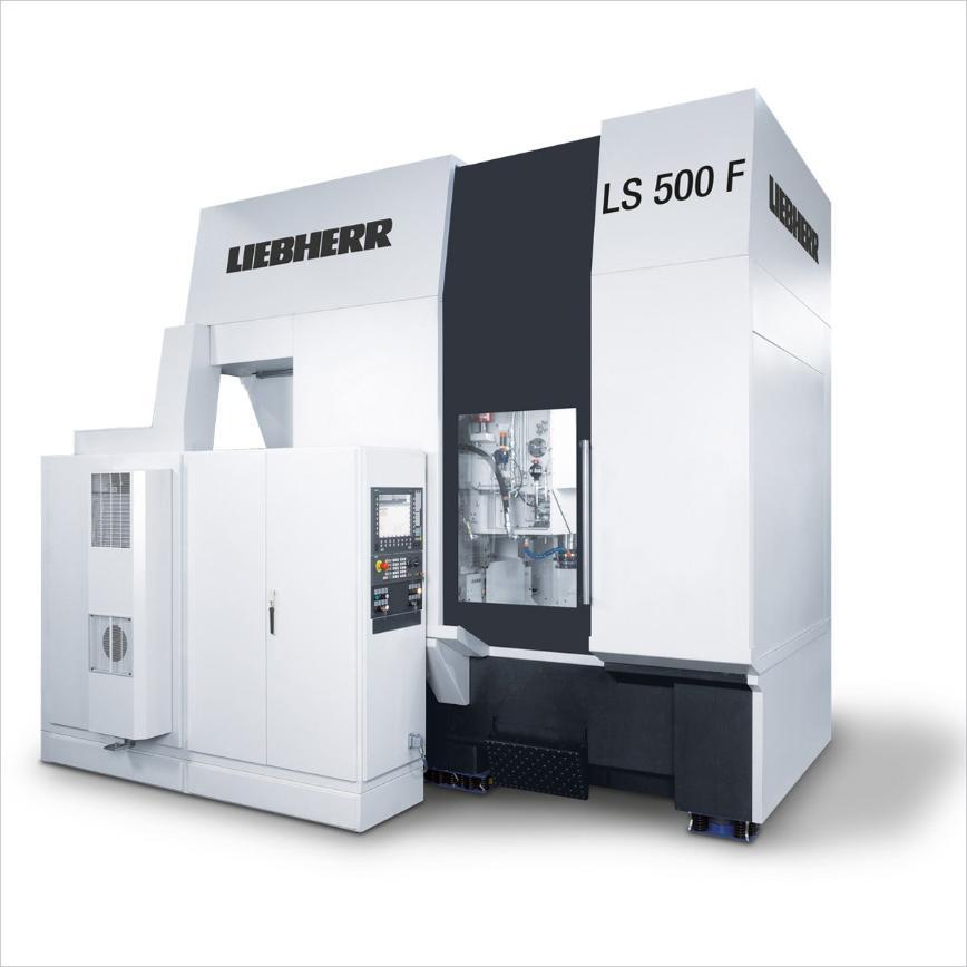 Logo Wälzstoßmaschine für zylindrische Verzahnungen - LS 500 F