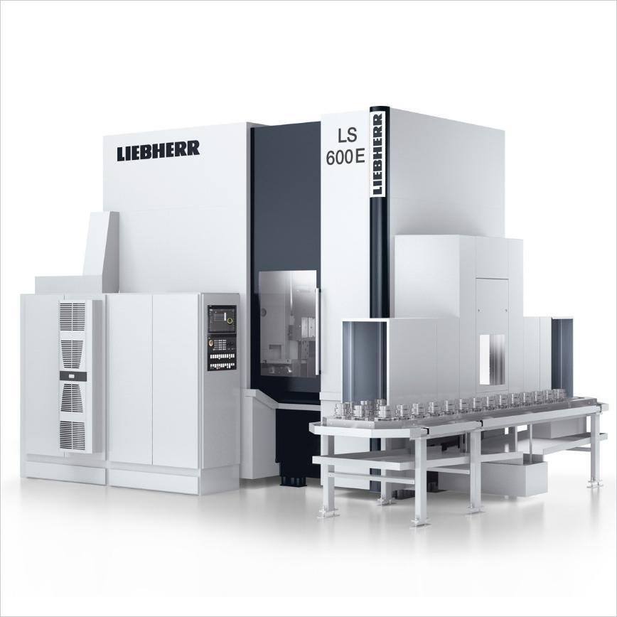 Logo Cylindrical gear shaping machine - LS 600 E
