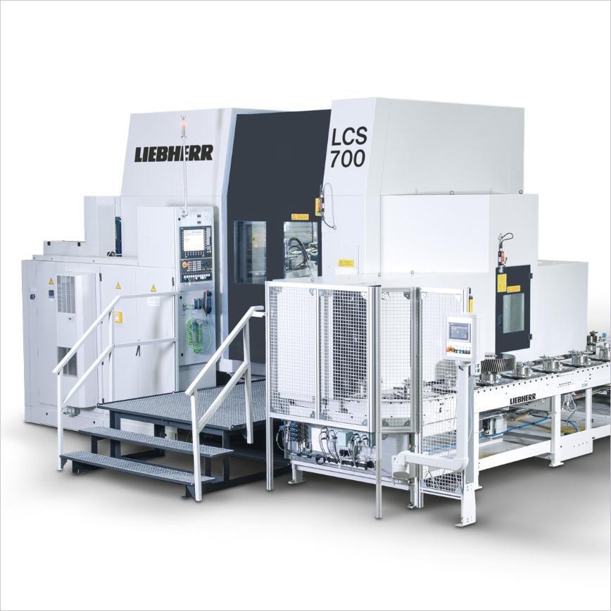 Logo Gear grinding machine - LCS 700