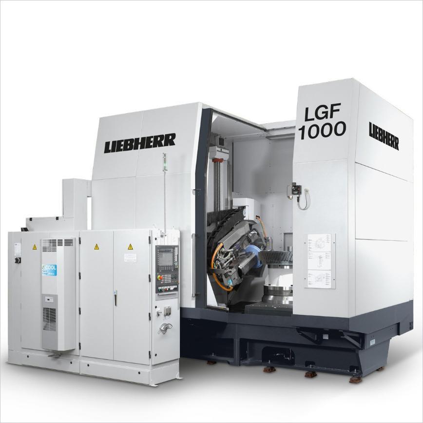 Logo Schleifmaschine für Verzahnungen - LGF 1000