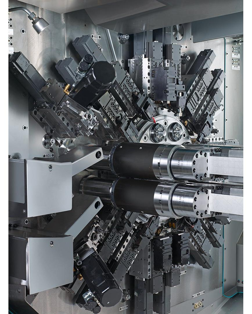 Logo Multi-spindle bar automatic - MS22C-8