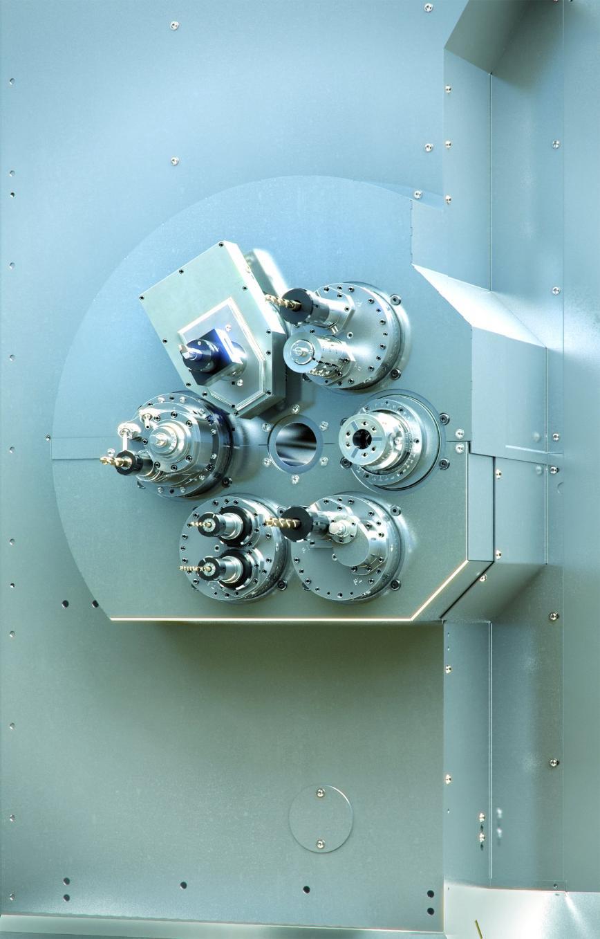 Logo Multi-spindle chucking automatic - SCX-32