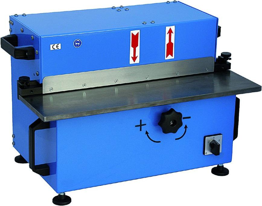 Logo Sheet Deburring Machine - BKE 550
