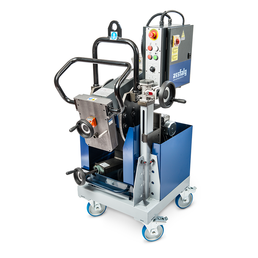 Logo Chamfering Machine, selfpropelling - ASO 930 | ASO 930 Plus