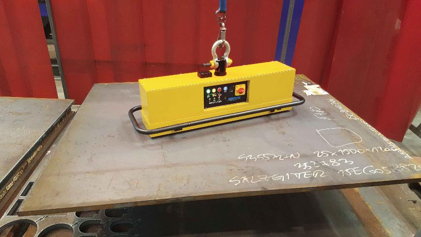 Logo Electropermanent Battery Lifting Magnet - EPM B - Series