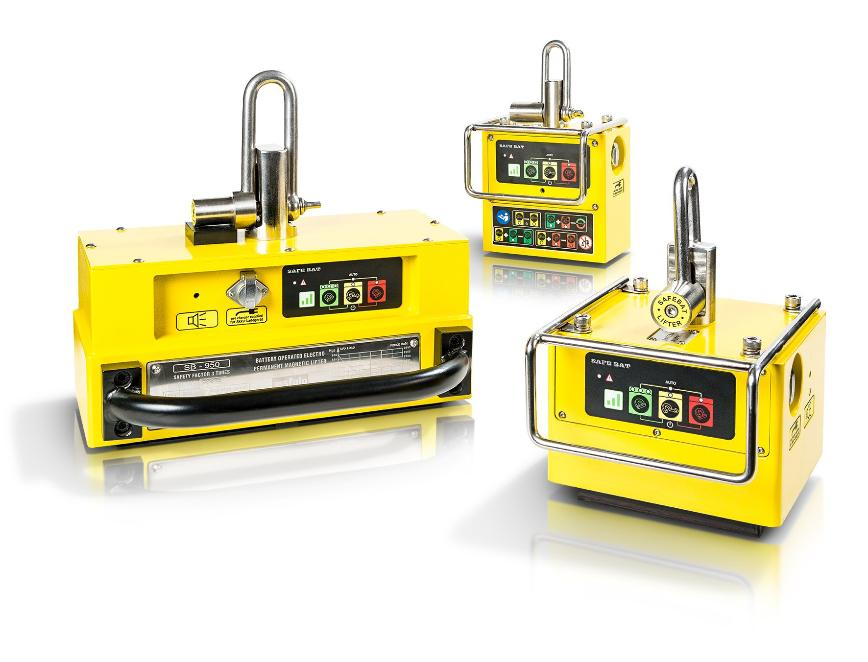 Logo Electropermanent battery lifter - SB 950 | SB500 | SB200