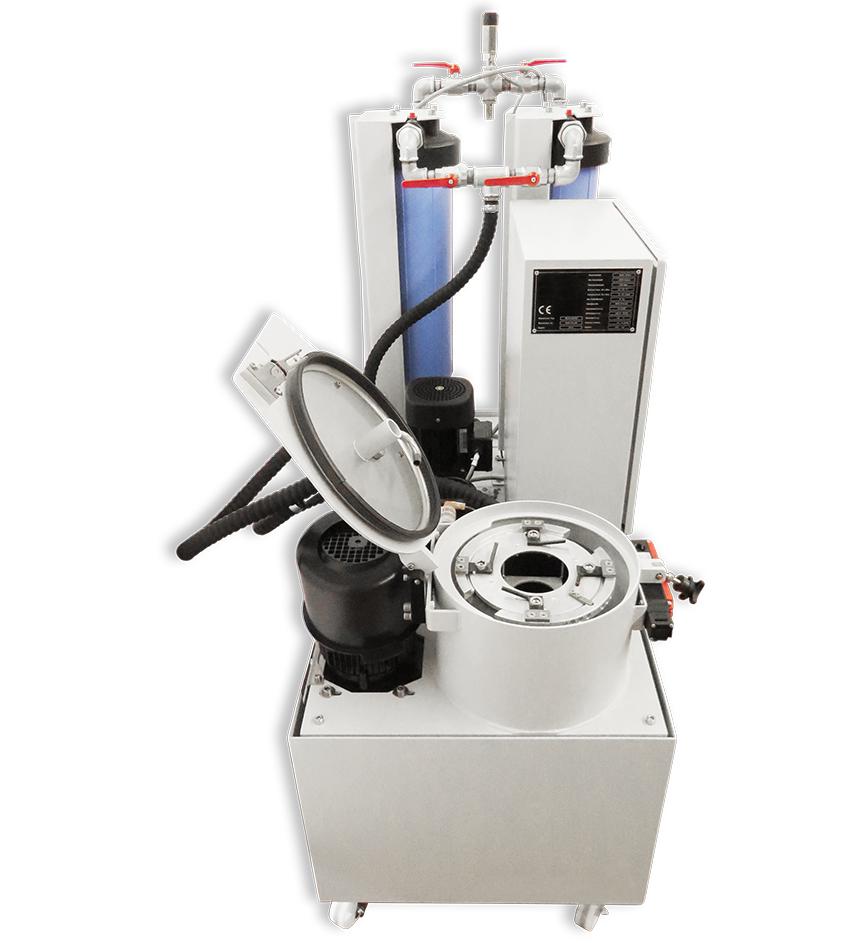 Logo Barrel and vibratory finishing machine - Centrifuge - MZ 35 | MZ 90